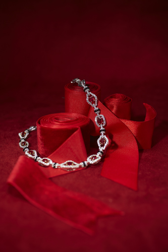 Ruby and Diamond Necklace - Molina Fine Jewelers